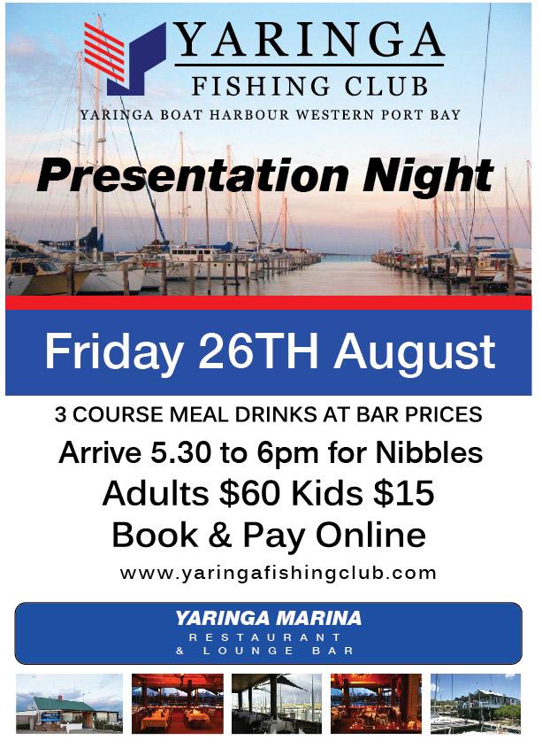 2016 YFC Presentation Night