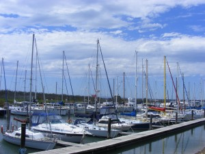 South Marina Berths at Yaringa Boat Harbour